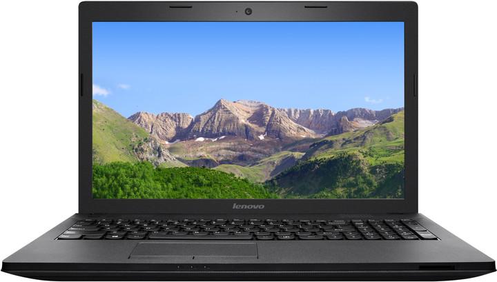 Lenovo IdeaPad G505, černá
