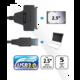 "Akasa redukce USB 3.0 - 2,5"" SATA HDD/SSD, 40cm"