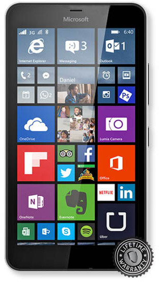 Screenshield Tempered Glass pro Microsoft Lumia 640 XL