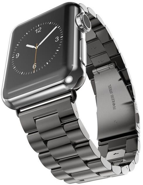 MAX náhradní řemínek MAS20 pro Apple Watch, 42/44mm, černá