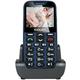 Evolveo EasyPhone XD s nabíjecím stojánkem, modrá