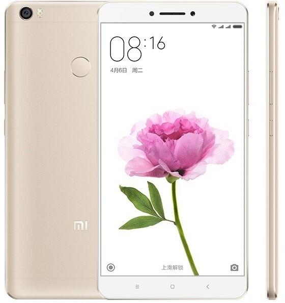 Xiaomi Mi Max - 64GB, LTE, zlatá