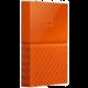 WD My Passport - 2TB, oranžová  + Energetický nápoj RedBull 355ml v hodnotě 49 Kč