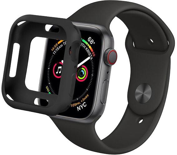 COTEetCI ochranný kryt PU + TPU pro Apple Watch, 44mm