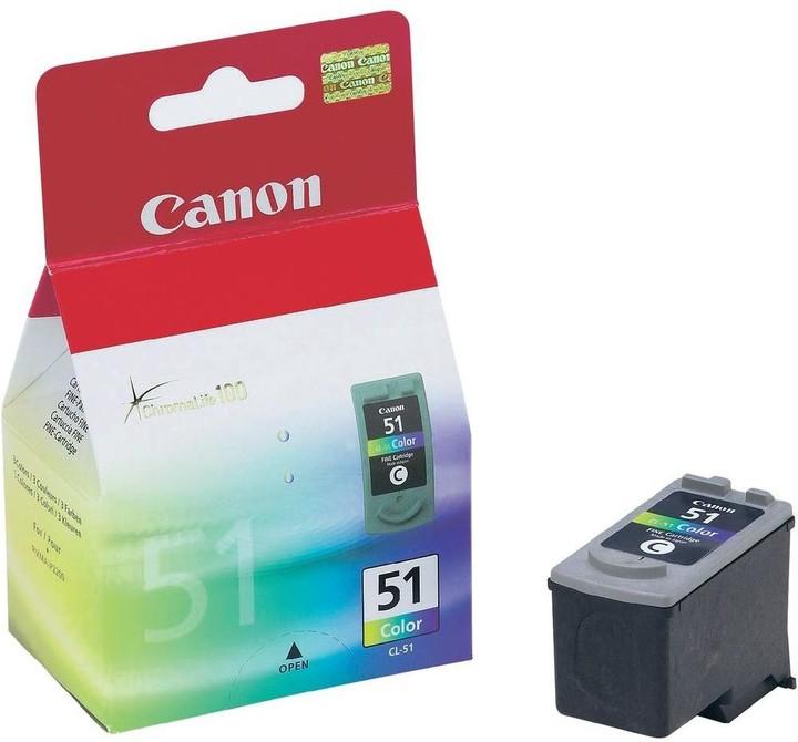 Canon CL-51, barevná