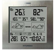 Hyundai WS 2244 M, stříbrná - HYUWS2244M