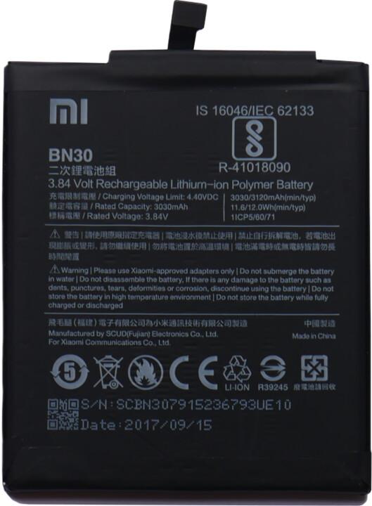 Xiaomi BN30 baterie 3120mAh pro Xiaomi Redmi 4A (Bulk)