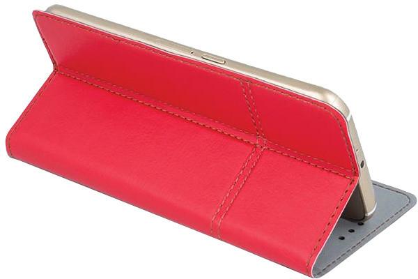 """Forever knížkové pouzdro (smartcase) typ a fold univerzální 4,8-5"""" - červené"""