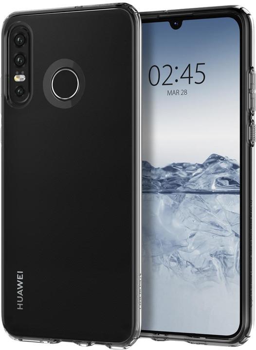 Spigen Liquid Crystal Huawei P30 Lite/P30 Lite New, čiré