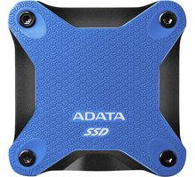 ADATA ASD600Q, USB3.1 - 240GB, modrá - ASD600Q-240GU31-CBL