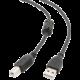 Gembird CABLEXPERT kabel USB A-B 1,8m 2.0 HQ s ferritovým jádrem