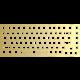 Glorious GMMK Pro 75% Switch Plate, mosaz, ANSI