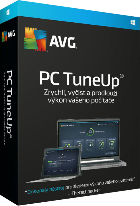 AVG PC TuneUp, 4 licence (12 měs.)