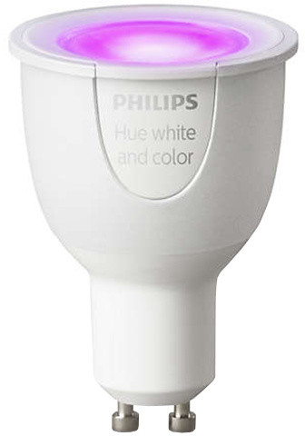 Philips Hue White and color ambiance Single bulb GU10