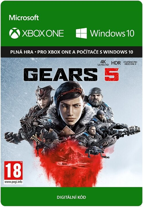 Gears 5 (Xbox Play Anywhere) - elektronicky