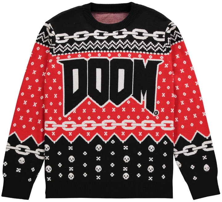 Svetr Doom - Logo (XL)