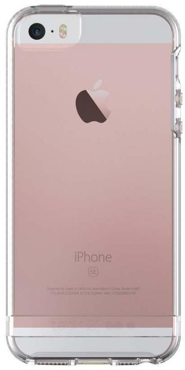 Tech21 Impact Clear zadní ochranný kryt pro Apple iPhone 5/5S/SE, čirá