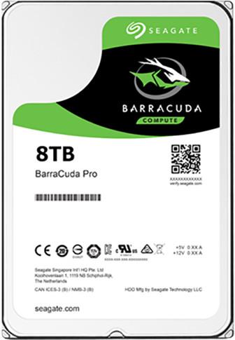 Seagate BarraCuda Pro - 8TB