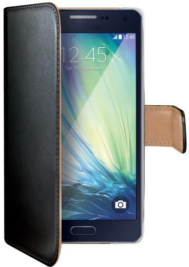 CELLY Wally pouzdro pro Samsung Galaxy A5, PU kůže, černá
