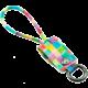 MIZOO USB/ microUSB klíčenka K2-06, duhová