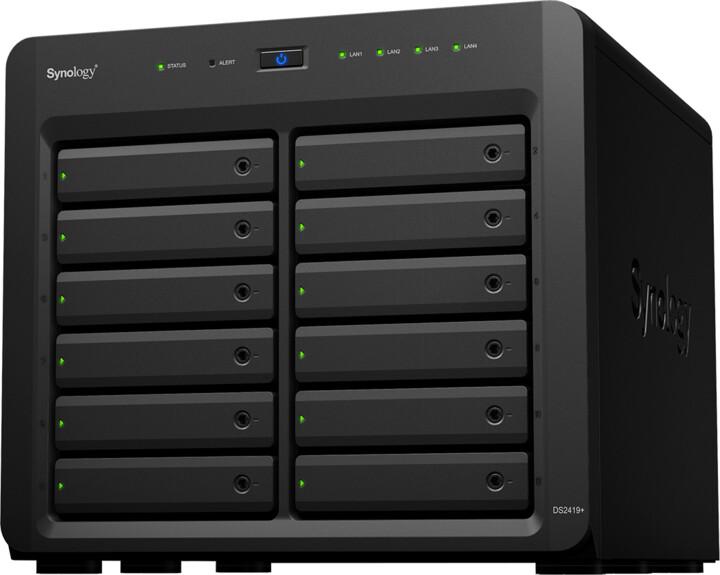 Synology DiskStation DS2419+ + rozšířená záruka 5 let