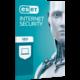 ESET Internet Security pro 2 PC na 3 roky
