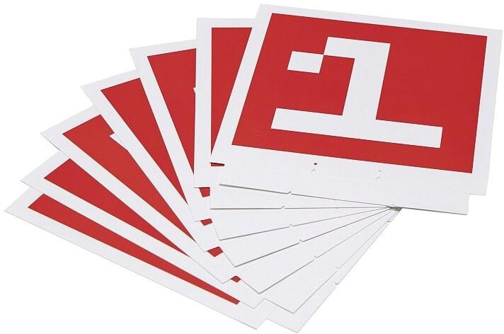 DJI sada rozpoznávacích karet pro DJI RoboMaster S1