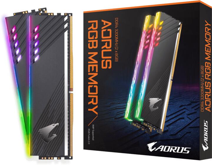 GIGABYTE AORUS RGB 16GB (2x8GB) DDR4 3200 CL19