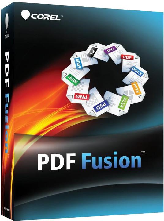 Corel PDF Fusion 1 Education License (při nákupu 61-300 licencí)