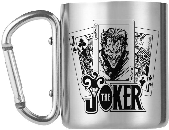 Hrnek DC Comics - The Joker, kovový s karabinou