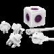 PowerCube Rewirable + Travel Plugs + IEC kabel