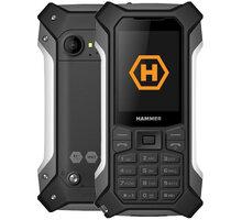 myPhone Hammer Patriot, Silver - TELMYHPATRIOTSI