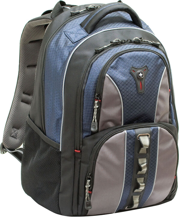 "WENGER COBALT - 16"" batoh na notebook, modrý"