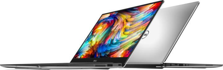 Dell XPS 13 (9360) Touch, stříbrná