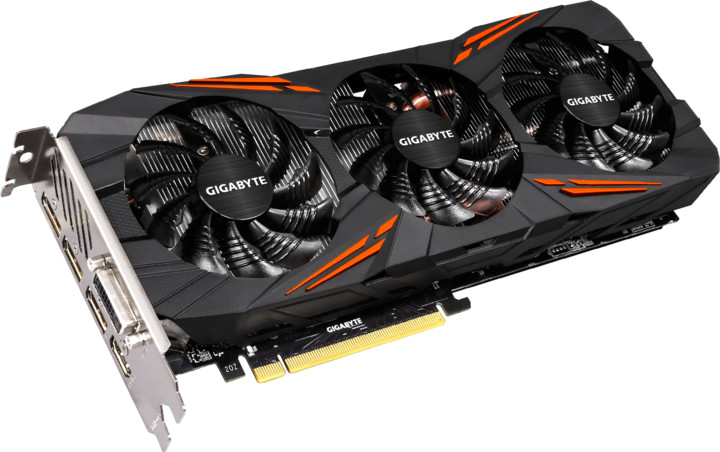 GIGABYTE GeForce GTX 1070 G1 Gaming, 8GB GDDR5