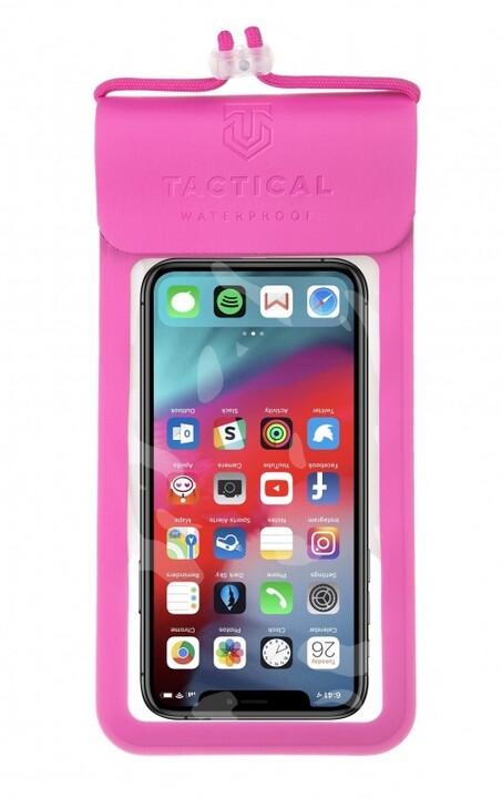 Tactical vodotěsné pouzdro Splash Pouch L/XL, růžová