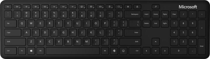 Microsoft Bluetooth Keyboard, černá