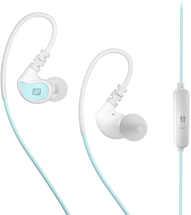 MEE audio X1, modrá/bílá