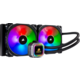 Corsair H115i RGB Platinum, (2x140mm)