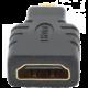 Gembird CABLEXPERT kabel HDMI na HDMI micro, zlacené kontakty, černá