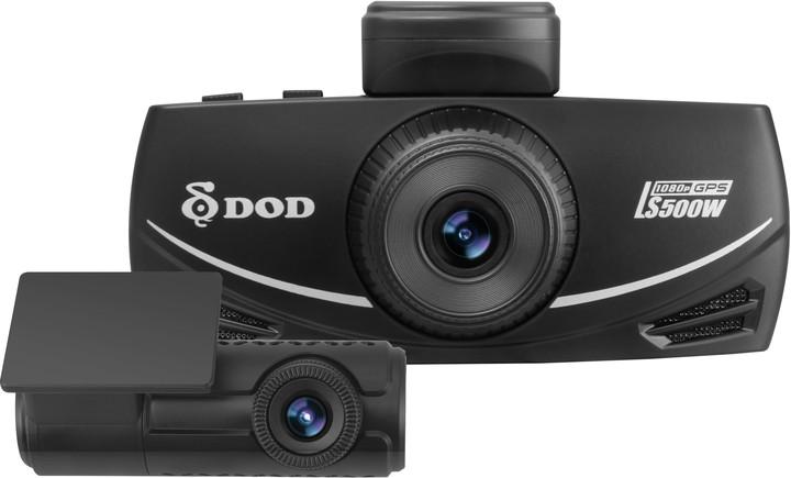 DOD LS500W Dual, kamera do auta