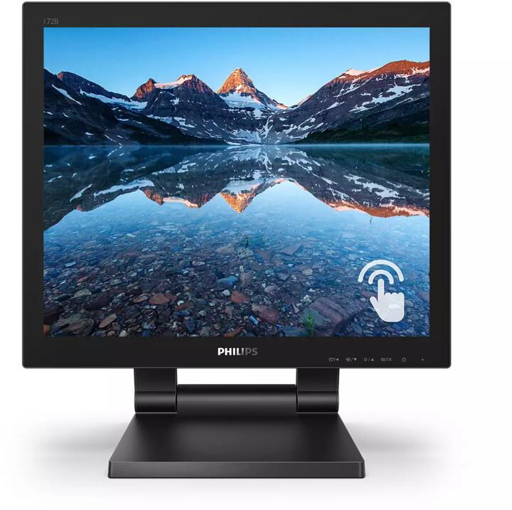 "Philips 172B9T - LED monitory 17"""