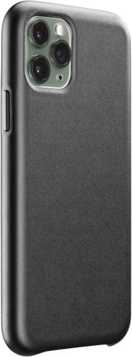 CellularLine ochranný kryt Elite pro Apple iPhone 11 Pro Max, PU kůže, černá