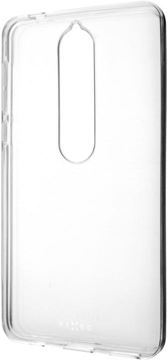 FIXED TPU gelové pouzdro pro Nokia 6.1/ 6 (2018), čiré