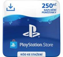 PlayStation Store naplnění peněženky 250 Kč - elektronicky - SCEE-CZ-00025000