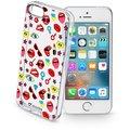 CellularLine STYLE průhledné gelové pouzdro pro Apple iPhone 5/5S/SE, motiv POP