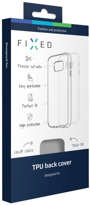 FIXED TPU gelové pouzdro pro Lenovo K6 Note, bezbarvé