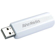 AVerMedia TV tuner DVB-T2 TD310, bílý 61TD3100A0AC