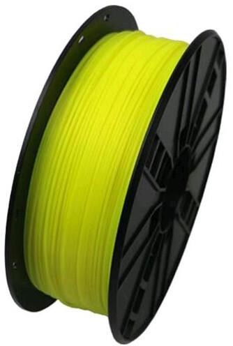 Gembird tisková struna (filament), ABS, 1,75mm, 0,6kg, žlutá