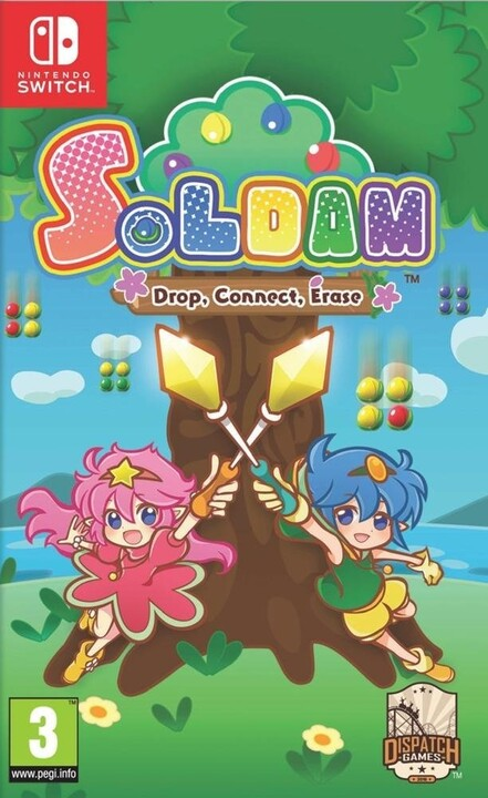 Soldam: Drop, Connect, Erase (SWITCH)